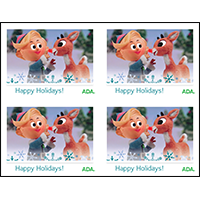 Hermey Happy Holidays card