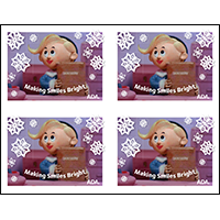 Hermey Making Smiles Bright card