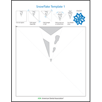 Image of snowflake activity sheet 1