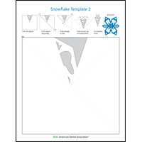 Image of snowflake activity sheet 2